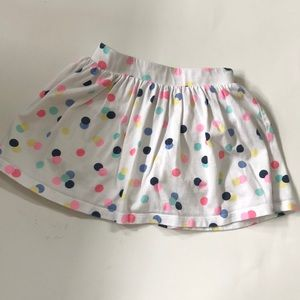 CARTER'S Dotted Skirt